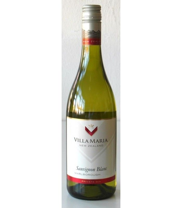100% Sauvignon Blanc svetlé slamovo žltej farby. Výrazná, ovocná a odrodovo typická vôňa s tónmi zrelých citrusov a trávy. V chuti je mladé, svieže a suché.  Ovocný a odrodový charakter. Ideálne odprevadí čerstvé morské plody, krabie mäso alebo zeleninové pokrmy.  Sauvignon Blanc Nový Zéland Villa Maria Private Bin Marlborough