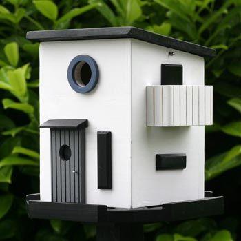 Modernist bird house, Mulholk