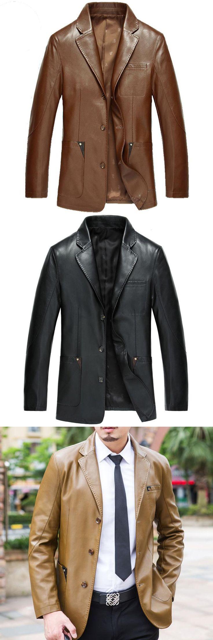 Italy Genuine Leather Sheepskin Jacket Men 2017 Real Lamb Brown Male Pilot Moto Aviator Coat Autumn Overcoat UK Suede Outwear US