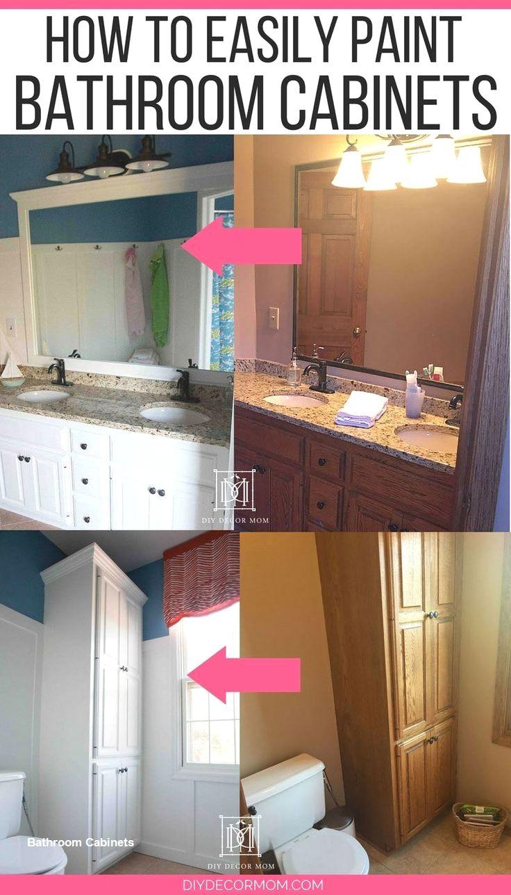 Bathroom Cabinet Designs Best Diy Lists Painting Bathroom Cabinets Painting Bathroom White Bathroom Cabinets