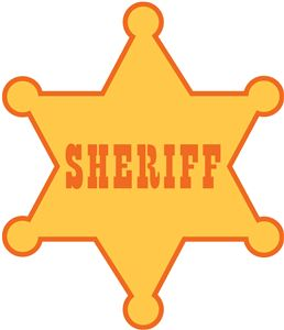 View Design: sheriff badge