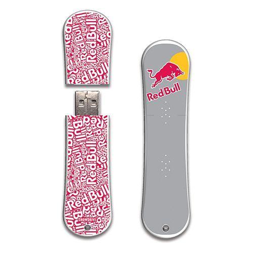 Red Bull Red Text SnowDrive 16GB USB Flash Drive #Kohls #GiftIT