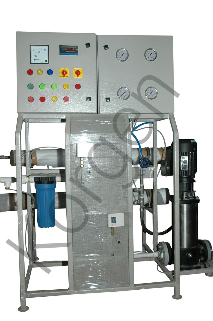 Whole House RO Plant for high TDS Water installed at an
