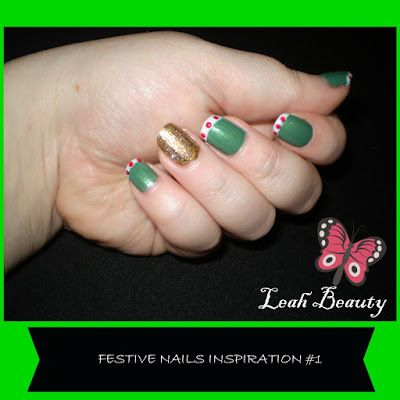 Leah's beauty : FESTIVE NAIL INSPIRATION