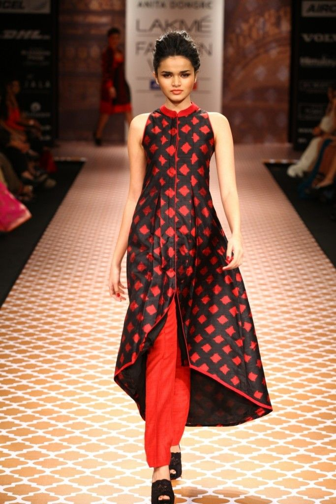 Anita Dongre runway at Lakme Fashion Week Winter Festive 2012