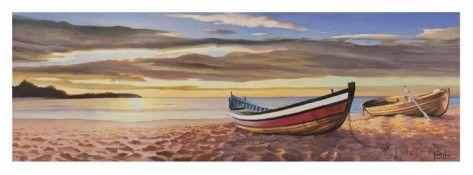 Alba Sulla Spiaggia Art by Adriano Galasso - AllPosters.co.uk