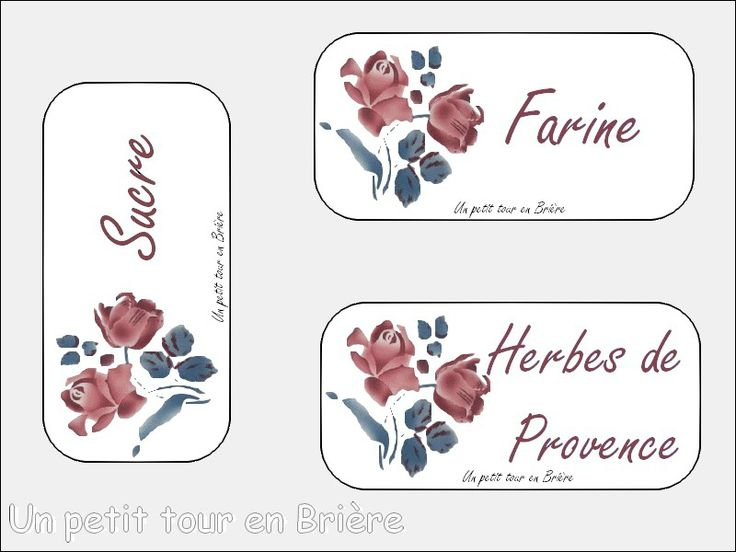 217 best images about etiquettes imprimer printable labels on pinterest free french free - Etiquette cuisine a imprimer ...