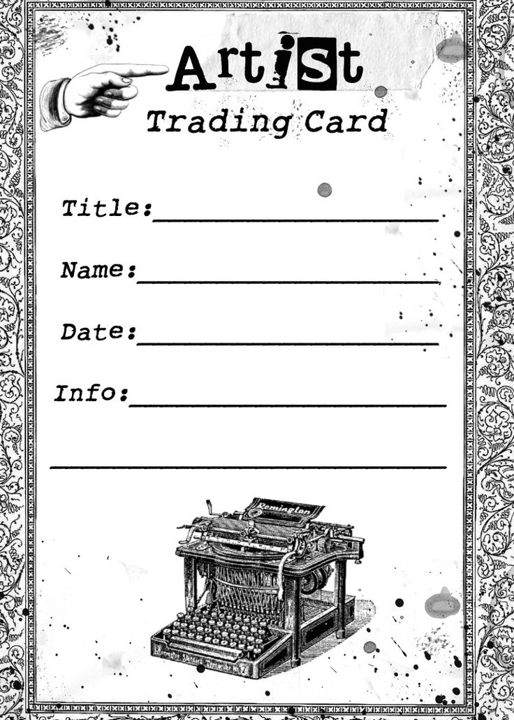Best 25+ Trading card template ideas on Pinterest DIY trading - trading card template