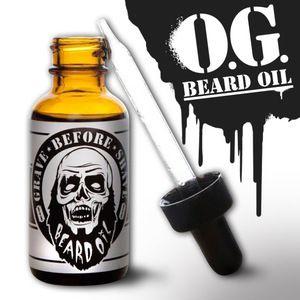 GRAVE BEFORE SHAVE Beard Oil 1oz. - For Nate's Fall/Winter beard.