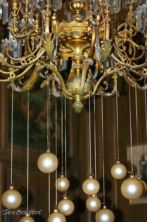 17 Best Images About Christmas Chandelier On Pinterest