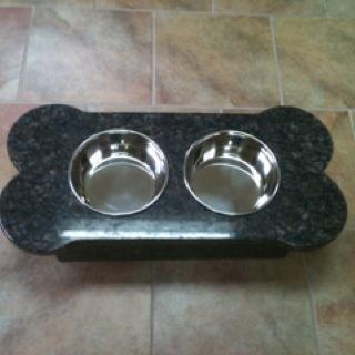Granite dog feederGranite Dogs, Dogs Feeders