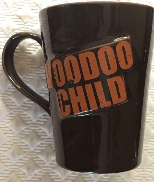 Jimi Hendrix Voodoo Child Authentic Collectible Coffee Mug Tea Oversized 14 Oz. | eBay