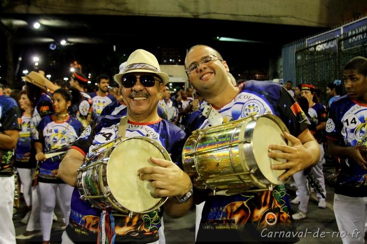 #Batucada brazil #rio #carnival Vila Isabel: Carnival River