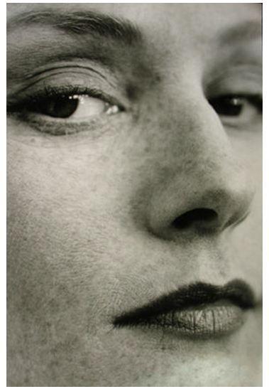 (Portrait of Isabelle Huppert by Brigitte Lacombe, 1999)