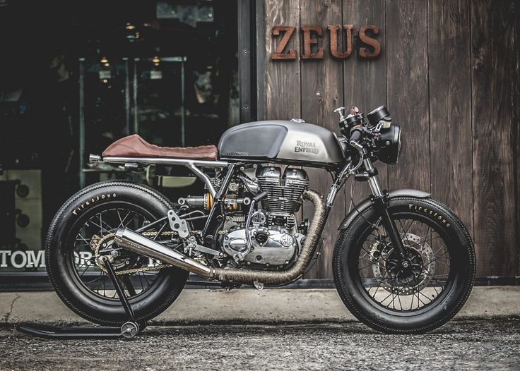"Zeus Customs ""Zeno Racer"" Royal Enfield Continental GT 535"