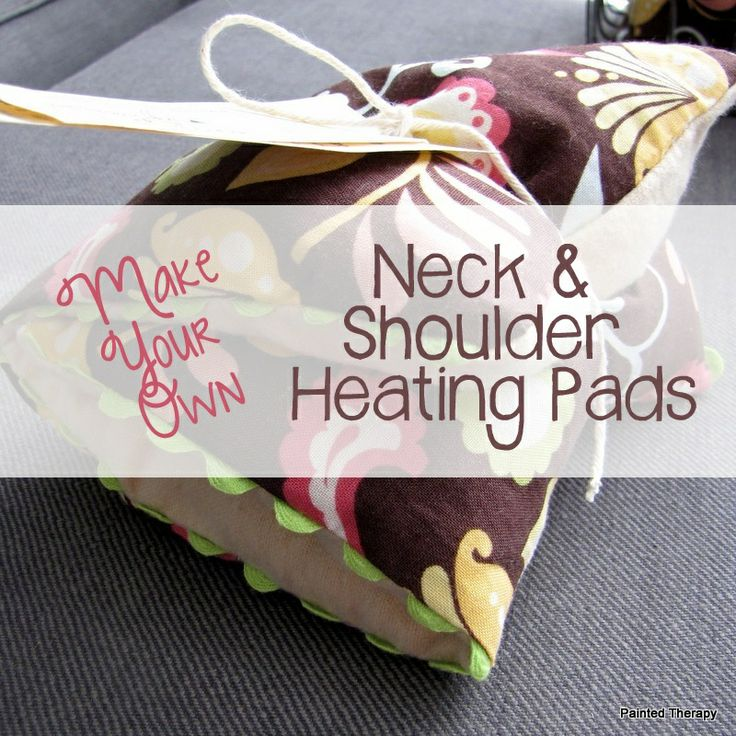 Painted Therapy: Project Gallery- Neck and shoulder heating pads