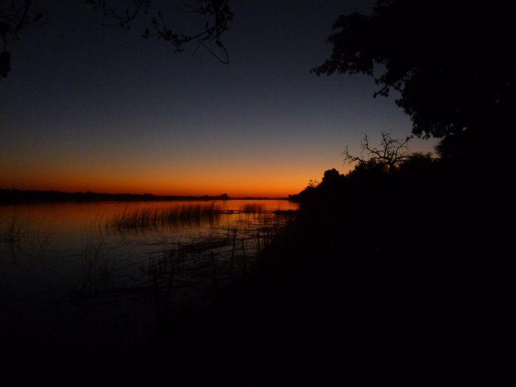 Sunset Nata, Botswana