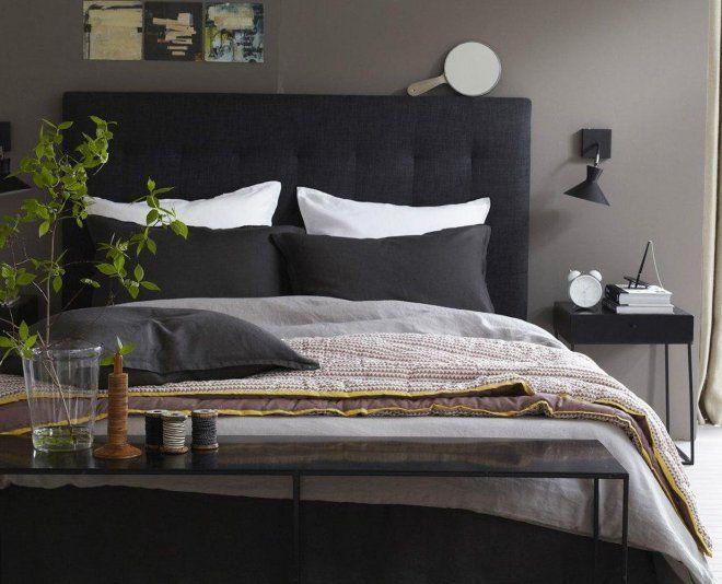 ... da letto su Pinterest  Pareti grigie, Biancheria da letto e Lampade
