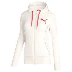 PUMA Sherpa Full Zip Hoodie - Women's - Sport Inspired - Clothing - Whisper
