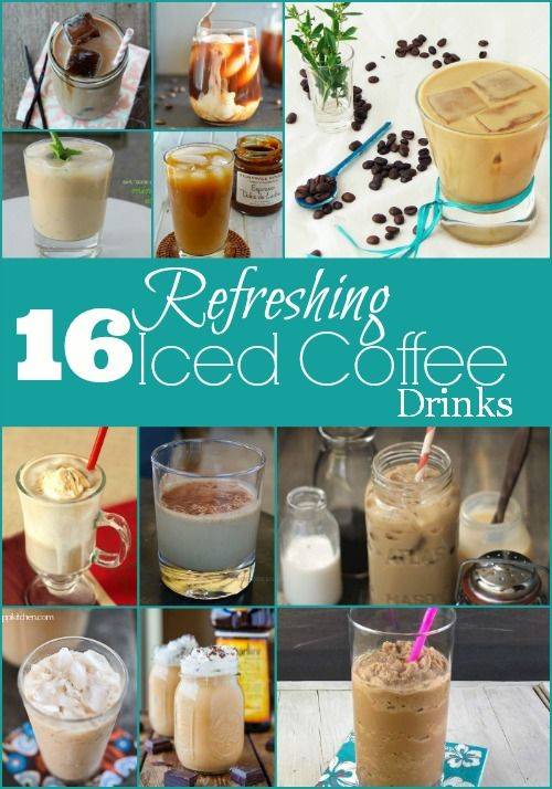16 Refreshing Iced Coffee Drinks To Cool You Off This Summer!
