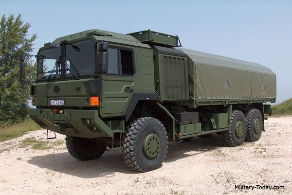 Man Military Trucks | The Raba H25 heavy utility truck uses a wide range of platforms for ...