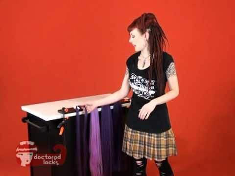Starting Synthetic Dreadlock adventures! How to Measure Size & Length of Synthetic Dreadlocks - DoctoredLocks.com