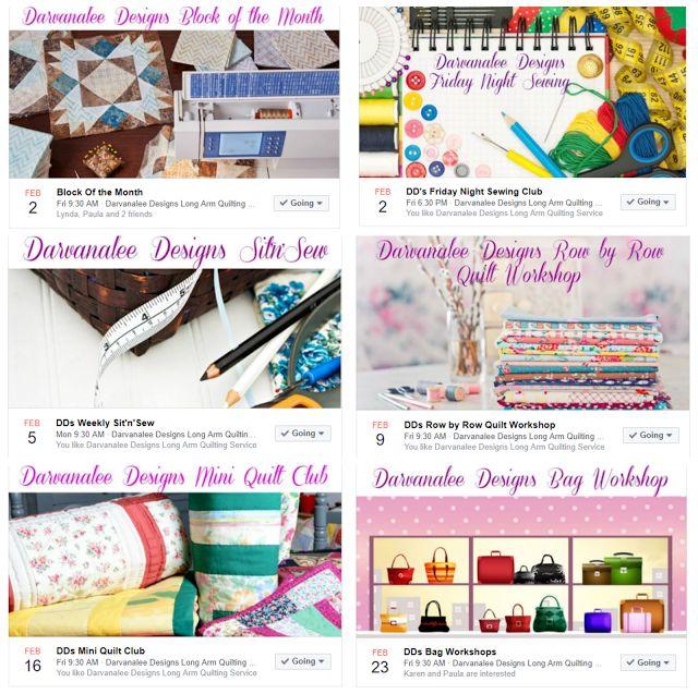 Darvanalee Designs Studio : February's What's On at Darvanalee Designs Studio