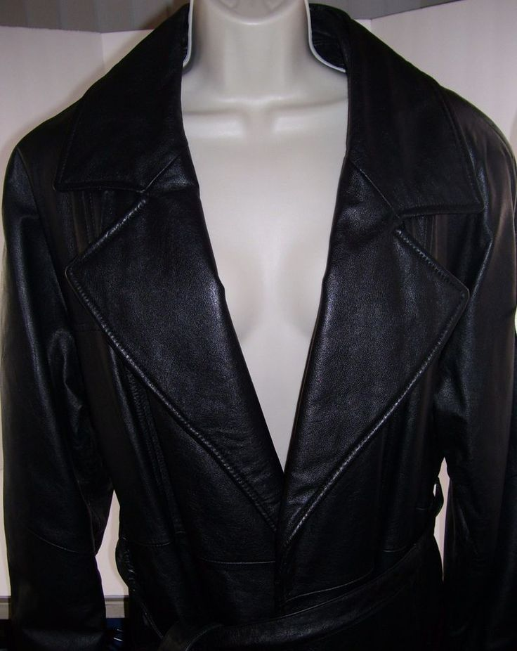 Wilsons Leather Experts Thinsulate Womens Black Leather Belted Hipster Jacket LG #WilsonsLeather #HipsterJacket