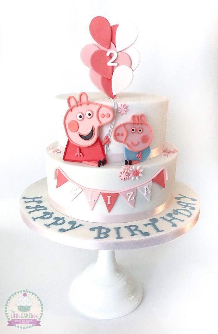 1001 Peppa Wutz Torte Ideen Fur Einen Lustigen Kindergeburtstag In 2020 Peppa Wutz Torte Kindergeburtstag Peppa Wutz Kuchen