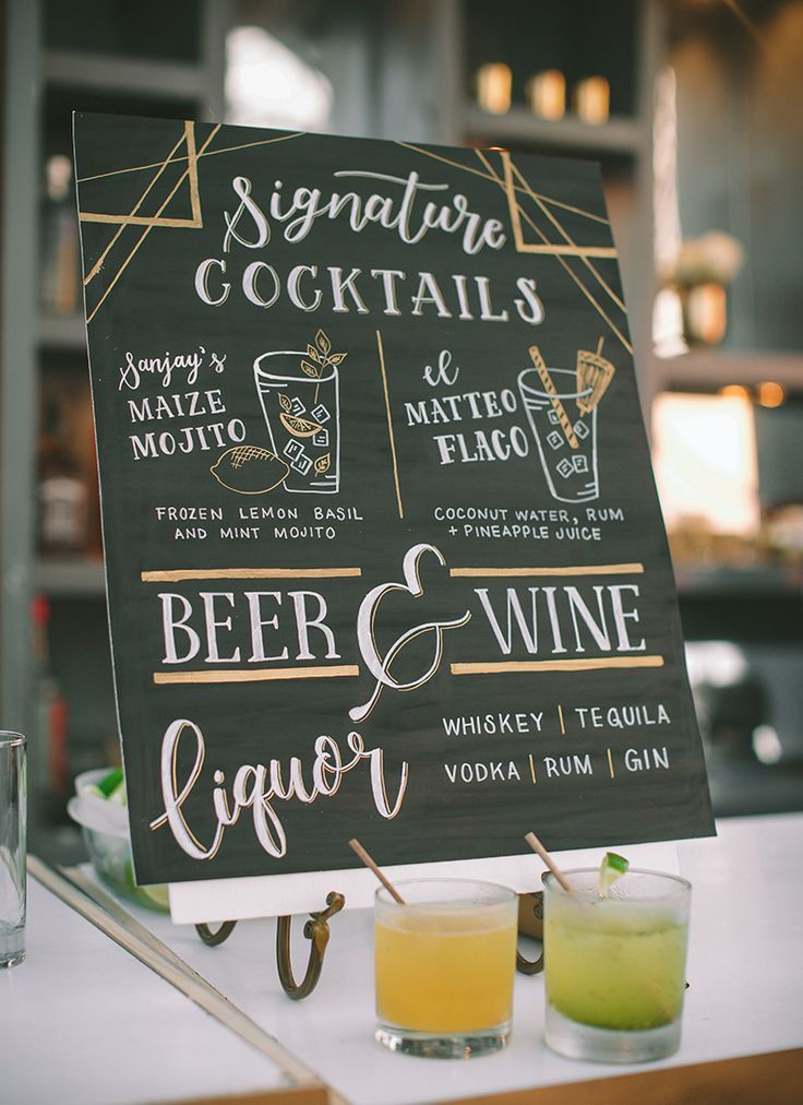 TOP 50 DESIGN IDEAS FOR NEW YEARS EVE in 2020 Bar menu