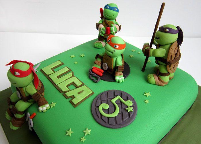 Teenage Mutant Ninja Turtles Birthday Cake Toppers