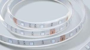 LED-list med RGB, fleksibel