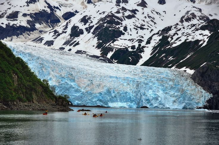 Kenai Fjords sits on Alaska's Kenai Peninsula near the town of Seward. It has one of the largest ice fields in the United States.