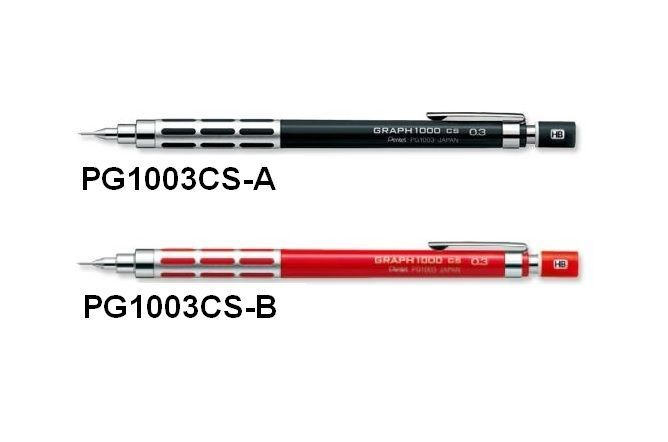 New Pentel Drafting Pencil Graph for Pro PG1003CS Series Japan #Pentel