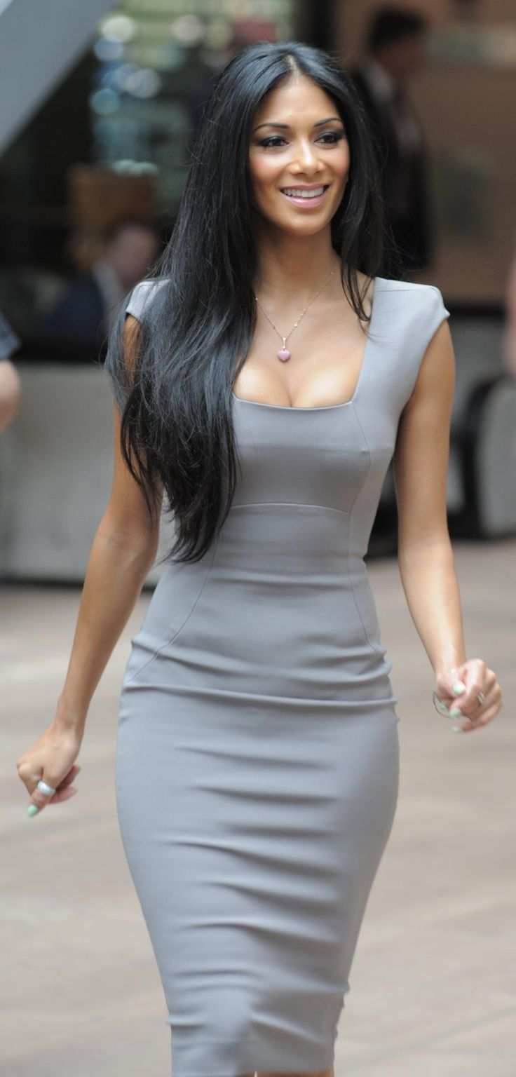 Cuz I wanna be able to rock a tight dress like Nicole Scherzinger ;) #WomanCrush #Fitness #Inspiration