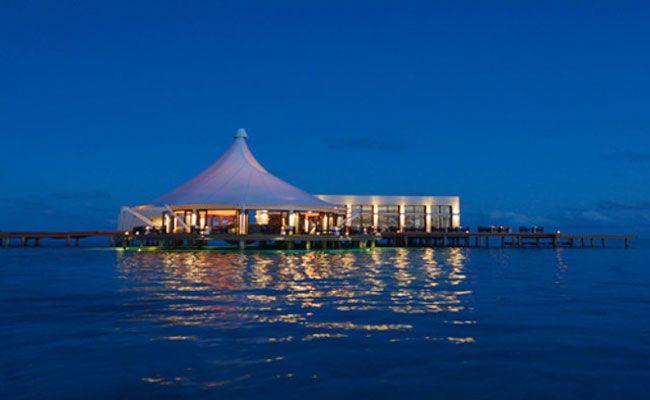 Bar, restaurante, balada. Até aí, nada de novo. Mas já imaginou como seria se pudesse desfrutar dessas três coisas no fundo de um oceano? Essa é a proposta da Subsix, a primeira casa noturna subaquática, que, como se não bastasse, está localizada em uma das praias maravilhosas das Ilhas Maldivas. Situada a 500 metros da costa e a seis metros de profundidade nas águas mornas do Oceano Índico, o bar oferece uma vista panorâmica sobre a vida marinha exótica da região
