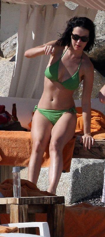 Katie Perry Green Bikini 110