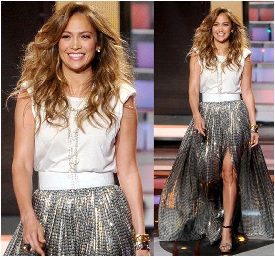 Best Outfits Worn by Jennifer Lopez in American Idol