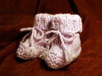 Pletené botičky pro 0 6měsíců