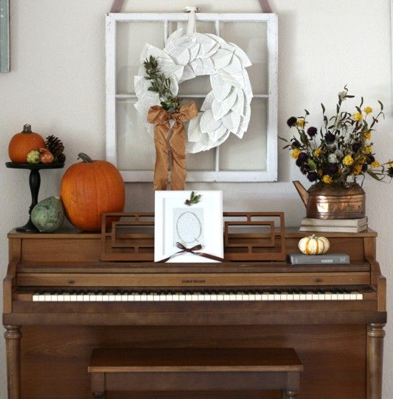 The Philosophy of Interior Design: Decorating Around an Upright Piano, Pictures of Pianos in Rooms
