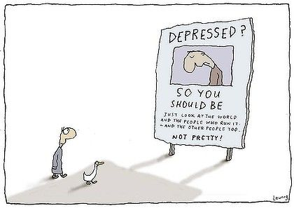 Depressed? Leunig
