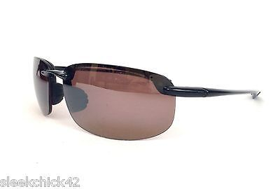 cool AUTHENTIC Maui Jim Sport Ho'okipa Men's Sunglasses MJ407-0264 017-130 Brown GUC