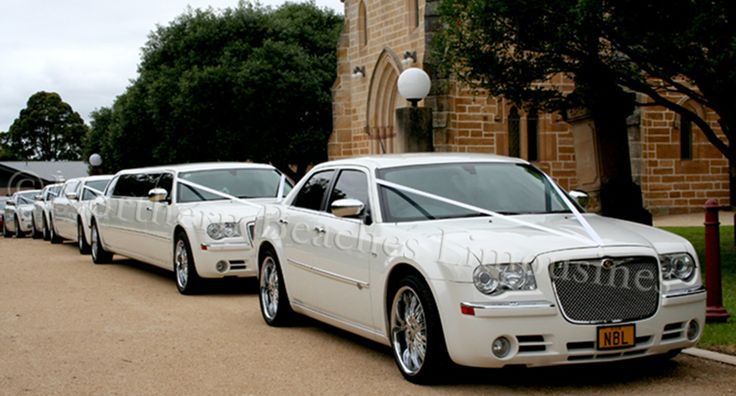 Chrysler Wedding cars on duty in Sydney