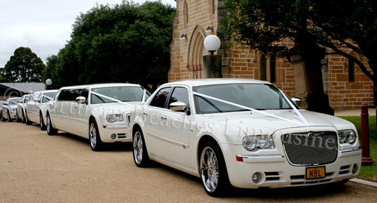 Chrysler Wedding cars on duty in Sydney