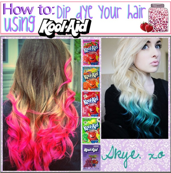 17 Best Images About Kool Aid Dyed Hair On Pinterest