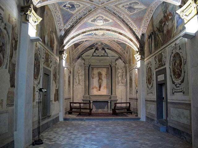 San Miniato Via Angelica - Oratorio di Sant'Urbano