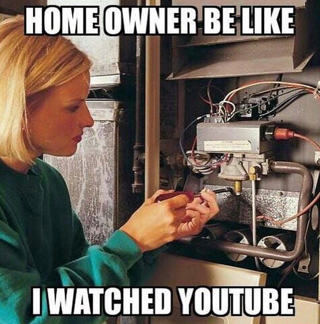 Sunrise Mechanical Inc On Twitter Plumbing Humor Hvac Humor Construction Humor