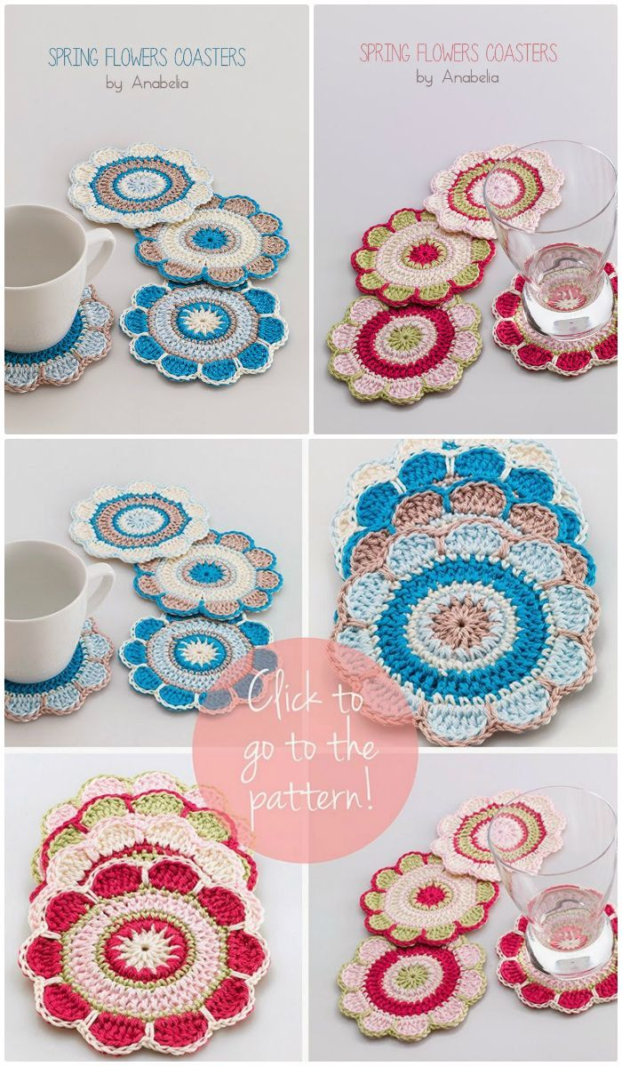 70 Easy Free Crochet Coaster Patterns For Beginners Learn