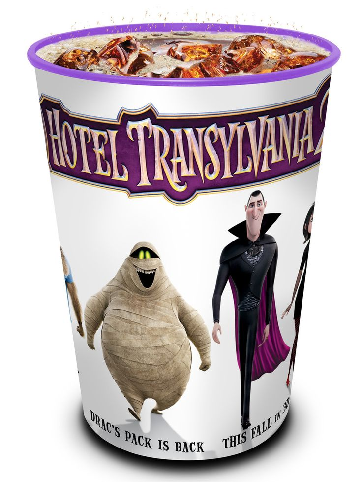 Hotel Transylvania 2 Movie Theater Exclusive Character Straw Set of 4 - Star Force collectibles