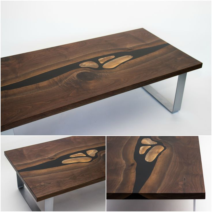 Check out this gorgeous table made possible by- @blacktailstudio  130 pounds total!  #furniture #walnut #finewoodworking #woodlovers #wooddesing #handmade